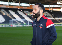 Bolton Wanderers' Erhun Oztumer Erhun pictured before the match<br /> <br /> Photographer Andrew Kearns/CameraSport<br /> <br /> The EFL Sky Bet Championship - Hull City v Bolton Wanderers - Tuesday 1st January 2019 - KC Stadium - Hull<br /> <br /> World Copyright © 2019 CameraSport. All rights reserved. 43 Linden Ave. Countesthorpe. Leicester. England. LE8 5PG - Tel: +44 (0) 116 277 4147 - admin@camerasport.com - www.camerasport.com