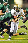 Torrance, CA 10/06/11 - Tommy Webster (Peninsula #49) in action during the Peninsula vs South Varsity football game.