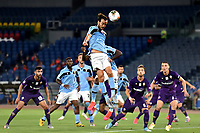Marco Parolo of SS Lazio in action during the Serie A football match between SS Lazio and ACF Fiorentina at stadio Olimpico in Roma ( Italy ), June 27th, 2020. Play resumes behind closed doors following the outbreak of the coronavirus disease. Photo Antonietta Baldassarre / Insidefoto