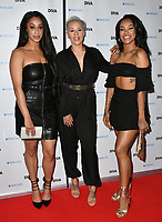 Stooshe (Alexandra Buggs, Karis Anderson and Courtney Rumbold) at the DIVA Magazine Awards - Lesbian and bisexual magazine hosts annual awards ceremony at Waldorf Hilton, London, 8th June 2018, England, UK.<br /> CAP/JOR<br /> &copy;JOR/Capital Pictures