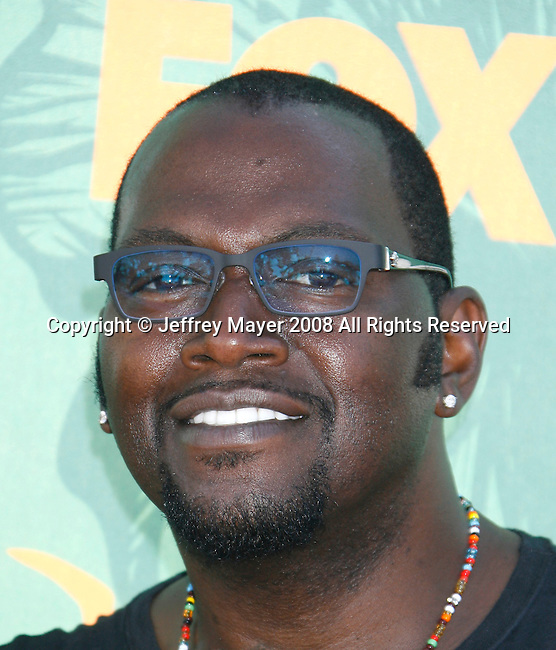 TV Personality Randy Jackson arrives at the 2008 Teen Choice Awards at the Gibson Amphitheater on August 3, 2008 in Universal City, California.