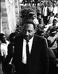 Martin Luther King Jr arriving at an Ala. church. This and over 10,000 other images are part of the Jim Peppler Collection at The Alabama Department of Archives and History:  http://digital.archives.alabama.gov/cdm4/peppler.php