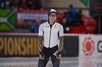 SPEEDSKATING: HAMAR: Vikingskipet, 28-02-2020, ISU World Speed Skating Championships,  Sprint, 500m Men, Yamato Matsui (JPN), ©photo Martin de Jong
