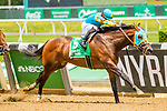 JUNE 08, 2019 : Alwaysmining with Javier Castellano, wins the Easy Goer, at Belmont Park, in Elmont, NY, June 8, 2019.  Sue Kawczynski_ESW_CSM