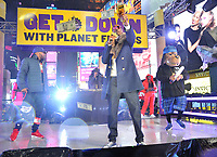 "NEW YORK - DECEMBER 31: Snoop Dogg performs on ""FOX'S New Years Eve with Steve Harvey: Live From Times Square"" on December 31, 2018 in New York City. (Photo by Stephen Smith/Fox/PictureGroup)"