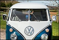 BNPS.co.uk (01202 558833)<br /> Pic: Bonhams/BNPS<br /> <br /> Yours for &pound;90,000 - 50 year old VW camper...<br /> <br /> A classic Volkswagen campervan is set to break a British record when it sells for the same price as a brand new Aston Martin. <br /> <br /> While wealthy car enthusiasts could indulge in a 2017 V8 Vantage with a top speed of 190mph, someone is expected splash &pound;90,000 on this 50-year-old camper instead. <br /> <br /> A rare first generation Type 2, it is among the most sought-after of all VWs and the example shown here is worth so much money because of a recent 'nuts and bolt' restoration. <br /> <br /> The iconic model, also known as the 'Splitscreen' of 'Splittie', is to be sold at the Goodwood Festival of Speed in West Sussex on June 30.