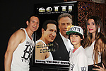 "Actor William DeMeo with himself and John Travolta & Nico Bustamante - Brooklyn, New York celebratges Actor William DeMeo's upcoming role in Gotti film in which he plays Sammy ""The Bull"" Gravano in a block party on May 23, 2018 along with cast.  (Photo by Sue Coflin/Max Photos)"