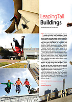 Parkour in Tokyo. For In Touch Magazine, June 2012.