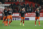 Sheffield United's Caolan Lavery looks on dejected at the final whistle during the League One match at the Valley Stadium, London. Picture date: November 26th, 2016. Pic David Klein/Sportimage