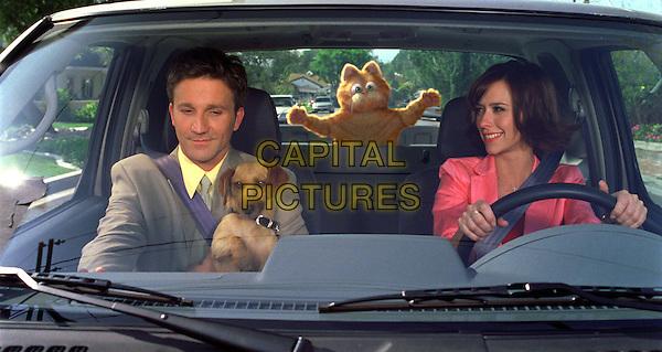 BRECKIN MEYER, ODIE, GARFIELD & JENNIFER LOVE HEWITT.in Garfield.*Editorial Use Only*.www.capitalpictures.com.sales@capitalpictures.com.Supplied by Capital Pictures.