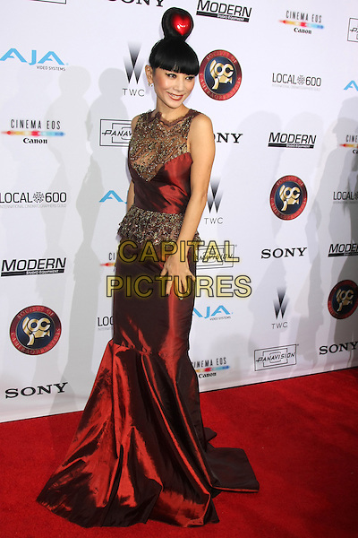 LOS ANGELES, CA - FEBRUARY 8: Bai Ling at the 2015 Society Of Camera Operators Lifetime Achievement Awards at the Paramount Theater in Los Angeles, California on February 8, 2015. <br /> CAP/MPI/DC/DE<br /> &copy;DE/DC/MPI/Capital Pictures
