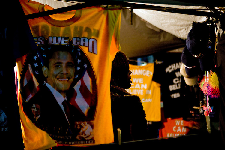 Supporters of Democratic presidential candidate Sen. Barack Obama, D-Ill. line up hours ahead of Wednesdays rally in Kissimmee, Fl, Oct. 29, 2008.