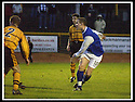 18/01/2003                   Copyright Pic : James Stewart.File Name : stewart-alloa v qots03.PETER WEATHERON SCORES QUEEN OF THE SOUTH'S THIRD GOAL.....James Stewart Photo Agency, 19 Carronlea Drive, Falkirk. FK2 8DN      Vat Reg No. 607 6932 25.Office     : +44 (0)1324 570906     .Mobile  : +44 (0)7721 416997.Fax         :  +44 (0)1324 570906.E-mail  :  jim@jspa.co.uk.If you require further information then contact Jim Stewart on any of the numbers above.........