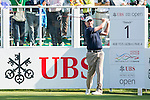 David Drysdale of Scotland tees off the first hole during the 58th UBS Hong Kong Golf Open as part of the European Tour on 10 December 2016, at the Hong Kong Golf Club, Fanling, Hong Kong, China. Photo by Marcio Rodrigo Machado / Power Sport Images