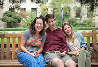 Occidental College students, their families and alumni enjoy Family Weekend & Homecoming, Oct. 16, 2015.<br />