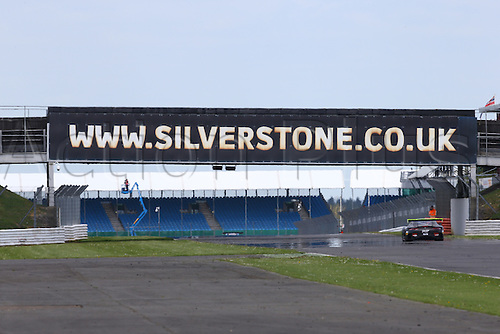 14.05.2016. Silvertone Circuit, Nathants, England. Blancpain Endurance GT Series motor racing.  The SILVERSTONE arch