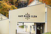 Mad River Glen Ski Resort in autumn, Vermont, USA.