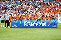 Lyon (França), 07/07/2019 - Copa do Mundo de Futebol Feminino / Estados Unidos x Holanda - Jogadoras da Holanda durante partida contra os Estados Unidos jogo valido pela Final da Copa do Mundo de Futebol Feminino em Lyon na França neste domingo, 07 (Foto: Vanessa Carvalho/Brazil Photo Press/Agencia O Globo) Esportes