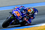 Movistar Yamaha MotoGP's rider Maverick Vinales of Spain rides during the MotoGP Official Test at Chang International Circuit on 17 February 2018, in Buriram, Thailand. Photo by Kaikungwon Duanjumroon / Power Sport Images