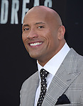 Dwayne Johnson  attends The Warner Bros. Pictures World Premiere of San Andreas held at the TCL Chinese Theatre  in Hollywood, California on May 26,2015                                                                               © 2015 Hollywood Press Agency