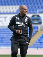 Preston North End manager Alex Neil  doing a pre match inspection <br /> <br /> Photographer David Horton/CameraSport<br /> <br /> The EFL Sky Bet Championship - Reading v Preston North End - Saturday 19th October 2019 - Madejski Stadium - Reading<br /> <br /> World Copyright © 2019 CameraSport. All rights reserved. 43 Linden Ave. Countesthorpe. Leicester. England. LE8 5PG - Tel: +44 (0) 116 277 4147 - admin@camerasport.com - www.camerasport.com