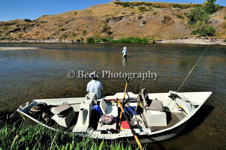 Fly fishing Lower Bighorn