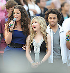 Khloe Kardashian,Jennette McCurdy & Corbin Bleu live at The 102.7's KIIS-FM's Wango Tango 2009 held at The Verizon Wireless Ampitheatre in Irvine, California on May 09,2009                                                                     Copyright 2009 Debbie VanStory / RockinExposures