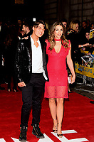 www.acepixs.com<br /> <br /> March 8 2017, London<br /> <br /> Damian Hurley and Elizabeth Hurley arriving at the World Premiere of 'The Time Of Their Lives' at the Curzon Mayfair on March 8, 2017 in London<br /> <br /> By Line: Famous/ACE Pictures<br /> <br /> <br /> ACE Pictures Inc<br /> Tel: 6467670430<br /> Email: info@acepixs.com<br /> www.acepixs.com