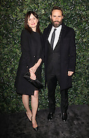 Emily Mortimer and Alessandro Nivola<br /> at the 2017 Charles Finch & CHANEL Pre-Bafta Party held at Anabels, London.<br /> <br /> <br /> ©Ash Knotek  D3227  11/02/2017