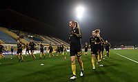 20191108 - Zapresic , BELGIUM : Belgian Julie Biesmans pictured during warming up of the female soccer game between the womensoccer teams of  Croatia and the Belgian Red Flames , the third women football game for Belgium in the qualification for the European Championship round in group H for England 2021, friday 8 th october 2019 at the NK Inter Zapresic stadium near Zagreb , Croatia .  PHOTO SPORTPIX.BE | DAVID CATRY