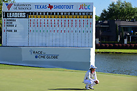 Haru Nomura (JPN) looks over her birdie opportunity to force a tie with Cristie Kerr (USA) and eventual six playoff holes before winning the Volunteers of America Texas Shootout Presented by JTBC, at the Las Colinas Country Club in Irving, Texas, USA. 4/30/2017.<br /> Picture: Golffile | Ken Murray<br /> <br /> <br /> All photo usage must carry mandatory copyright credit (&copy; Golffile | Ken Murray)