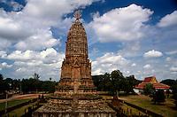 Wat Phra Si Rattana Mahathat in Chaliang, Si Satchanalai Historical Park. Sukhothai, Thailand.