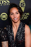 Sarah Bouhaddi<br /> Parigi 02-12-2019 <br /> Calcio <br /> Pallone D'oro 2019 <br /> Golden Ball 2019 <br /> Ballon d'or 2019 <br /> Foto JB Autissier / Panoramic / Insidefoto