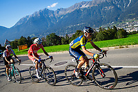 Picture by Alex Whitehead/SWpix.com - 28/09/2018 - Cycling - UCI 2018 Road World Championships - Innsbruck-Tirol, Austria - U23 Men's Road Race - Mark Padun of Ukraine.