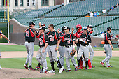 August 17 2008:  Images of the Baseball Factory team during the 2008 Under Armour All-American Game at Wrigley Field in Chicago, Illinois.  (Copyright Mike Janes Photography)