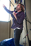 Aaron Bruno of AWOLNATION performs at the Klipsch Music Center in Indianapolis, IN.