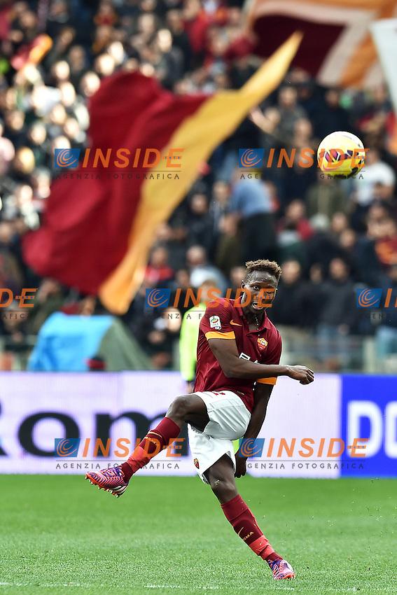 Mapou Yanga-Mbiwa Roma <br /> Roma 15-02-2015 Stadio Olimpico, Football Calcio Serie A AS Roma - Parma Foto Andrea Staccioli / Insidefoto