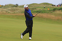 Graeme McDowell (NIR) on the 9th during the preview of the the 148th Open Championship, Portrush golf club, Portrush, Antrim, Northern Ireland. 17/07/2019.<br /> Picture Thos Caffrey / Golffile.ie<br /> <br /> All photo usage must carry mandatory copyright credit (© Golffile | Thos Caffrey)