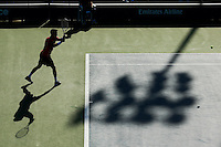 Bautista from Spain returns a ball during second round match at the US Open 2014 tennis tournament at the USTA Billie Jean King National Center in New York.  08.29.2014. VIEWpress