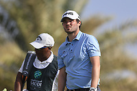 Cormac Sharvin (NIR) on the 8th tee during the 1st round of  the Saudi International powered by Softbank Investment Advisers, Royal Greens G&CC, King Abdullah Economic City,  Saudi Arabia. 30/01/2020<br /> Picture: Golffile | Fran Caffrey<br /> <br /> <br /> All photo usage must carry mandatory copyright credit (© Golffile | Fran Caffrey)