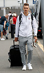 08.08.18 FK Maribor arrive at Glasgow airport: Blaz Vrhovec