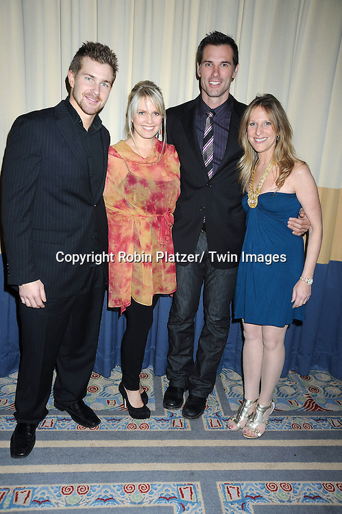 Josh Kelly, Terri Conn, Austin Peck and Marcia Tovsky attending the 26th Annual Starlight Children's Foundation Gala on March 16, 2011 at The Marriott Marquis Hotel in New York City.