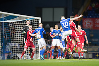 James Norwood of Ipswich Town heads just wide during Ipswich Town vs Accrington Stanley, Sky Bet EFL League 1 Football at Portman Road on 11th January 2020