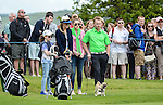 Ireland&rsquo;s Ronan Keating looks on with his family during round one <br /> <br /> Golf - Day 1 - Celebrity Cup - Saturday 4th July 2015 - Celtic Manor Resort  - Newport<br /> <br /> &copy; www.sportingwales.com- PLEASE CREDIT IAN COOK