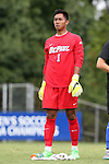 30 August 2015: DePaul's Quentin Low. The Duke University Blue Devils hosted the DePaul University Blue Demons at Koskinen Stadium in Durham, NC in a 2015 NCAA Division I Men's Soccer match.