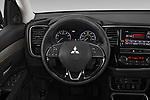 Car pictures of steering wheel view of a 2019 Mitsubishi Outlander SEL 5 Door SUV