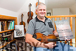 Peter Mullarkey will officially launch his new book 'Traditional Music of Iveragh - Volume 1', in Tech Amergin, Waterville on Friday evening at 7:30pm.
