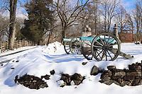 Winter, Gettysburg
