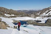 Midt i juni på snaut 500 moh. i Seiland nasjonalpark. Sommeren er fortsatt et stykke unna. ---- Mid June at 500 meters altitude in Seiland National Park.
