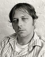 Anselm Berrigan, 2008.  Poet.